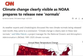 CCR Climate change clearly visible as NOAA prepares to release new 'normals'