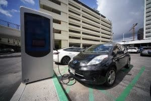 EV-electric-vehicle-chargers-Ala-Moana-Shopping-Center