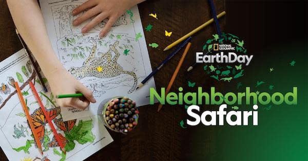earth day neighborhood safari ccr 2020